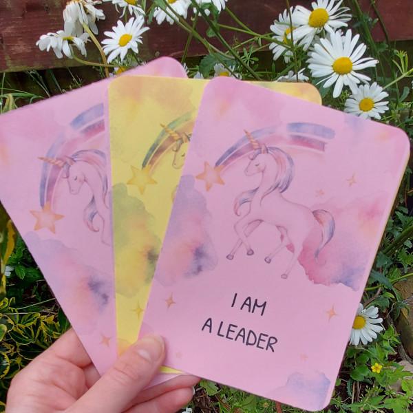 10 Unicorn Kids Affirmation Cards