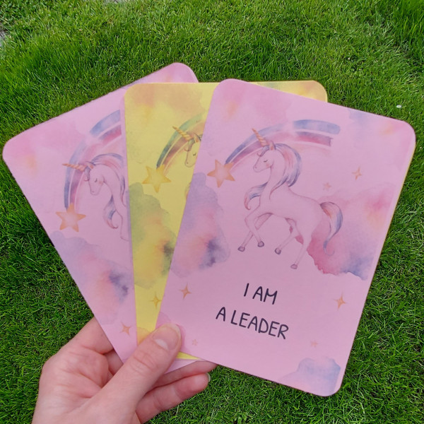 Unicorn Kids Affirmation Cards - 20210624 115125