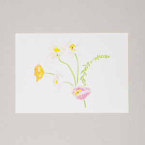 Spring Flowers A3 Print