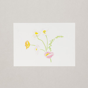Spring Flowers A4 Print