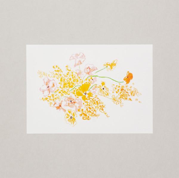 Summer Bouquet A4 Print