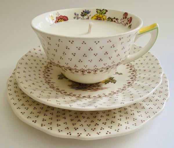 Teacup Candle - Decorative Royal Doulton Grantham