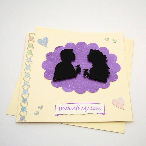 Handmade Valentines / Love Card