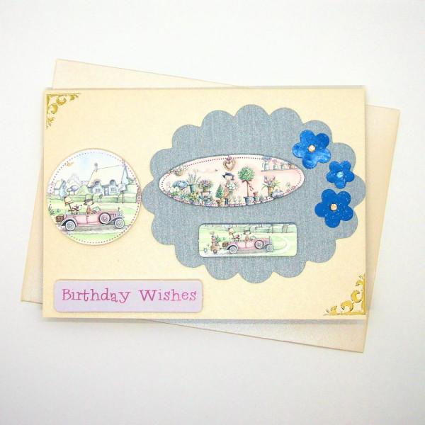 Handmade Birthday Card - 769 - 769a