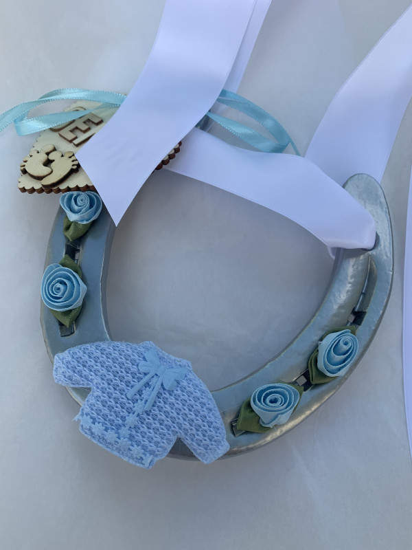 Personalised Christening Horse Shoe - B60A636A 4F74 4533 A372 C0FDC0F47678 scaled