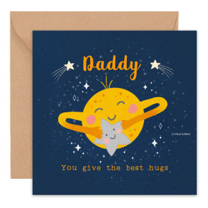 The Best Hugs – Father's Day Card