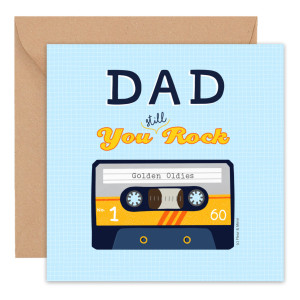 Dad You Still Rock – Father's Day Card