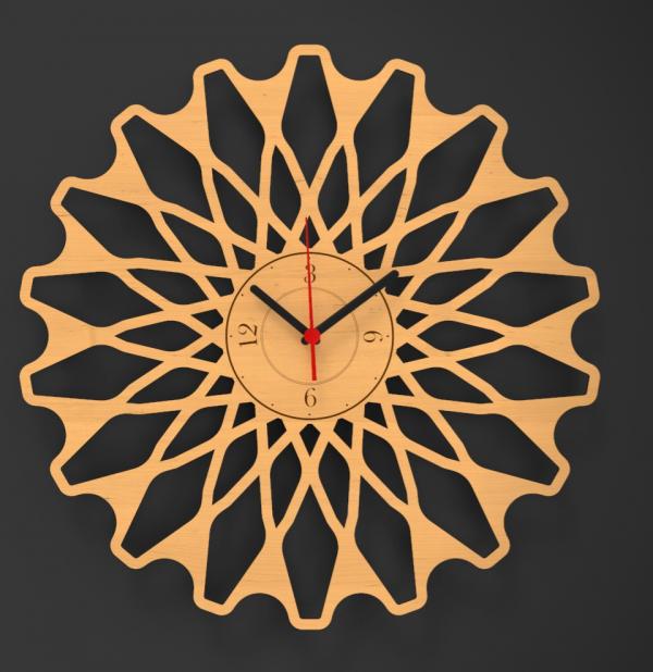 Modern Decorative Wall Clock - 1