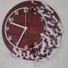 Handmade Wooden Butterfly Clock