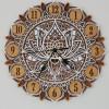 Decorative Layered Handmade Clock Mandala
