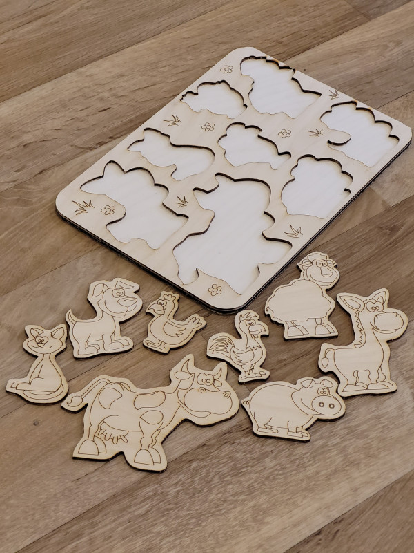 Selection of Handmade Wooden Puzzles for Toddlers - 20210520 201434 scaled