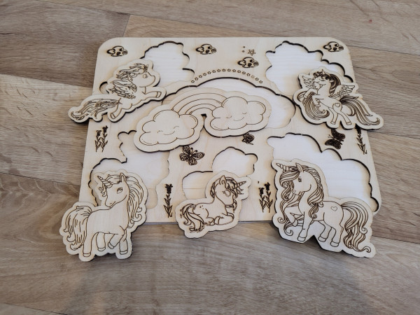 Selection of Handmade Wooden Puzzles for Toddlers - 20210529 183122 scaled