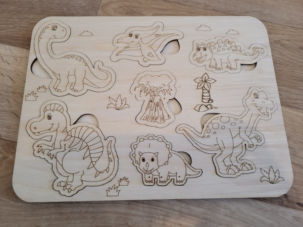 Selection of Handmade Wooden Puzzles for Toddlers - 20210529 183255 scaled