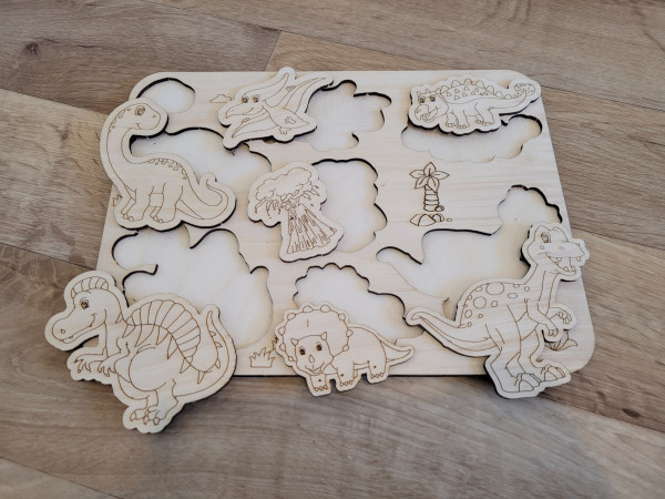 Selection of Handmade Wooden Puzzles for Toddlers - 20210529 183316 scaled