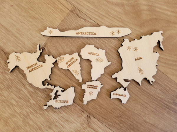 Wooden World Map Puzzle - 20210601 153302 scaled