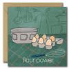 Flour Power Card