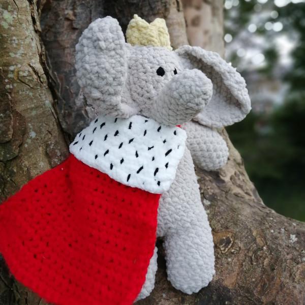 King Elephant Soft Toy Baby Gift - IMG 20201005 145821 0501623967837243