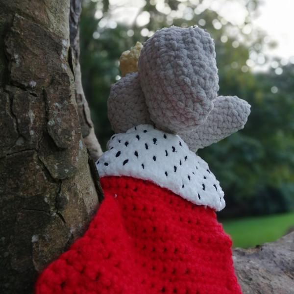 King Elephant Soft Toy Baby Gift - IMG 20201008 082228 5341623967837244
