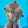 Grey Dinosaur Teddy - IMG 20210122 214239 8031623967837261