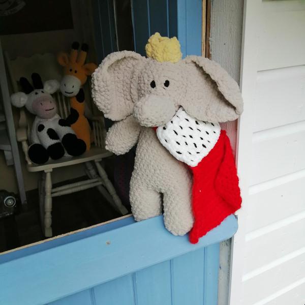 King Elephant Soft Toy