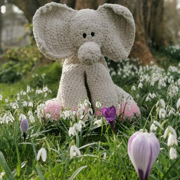 Elephant Soft Toy Baby Gift - IMG 20210217 133728 4481623967837263