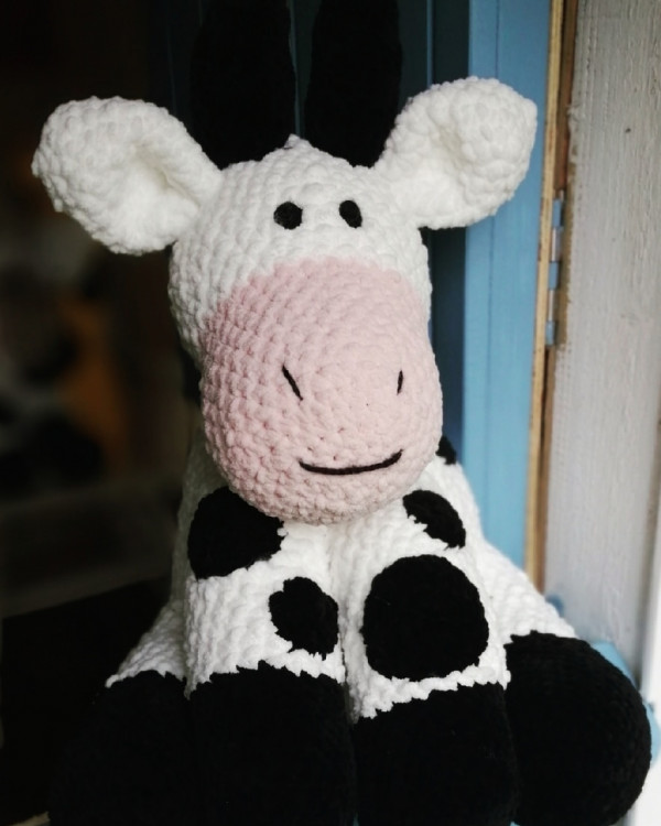 Cow Soft Toy Baby Gift - IMG 20210221 185832 1571623967837264