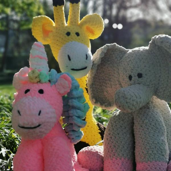 Elephant Soft Toy Baby Gift - IMG 20210403 110451 9271623967837267