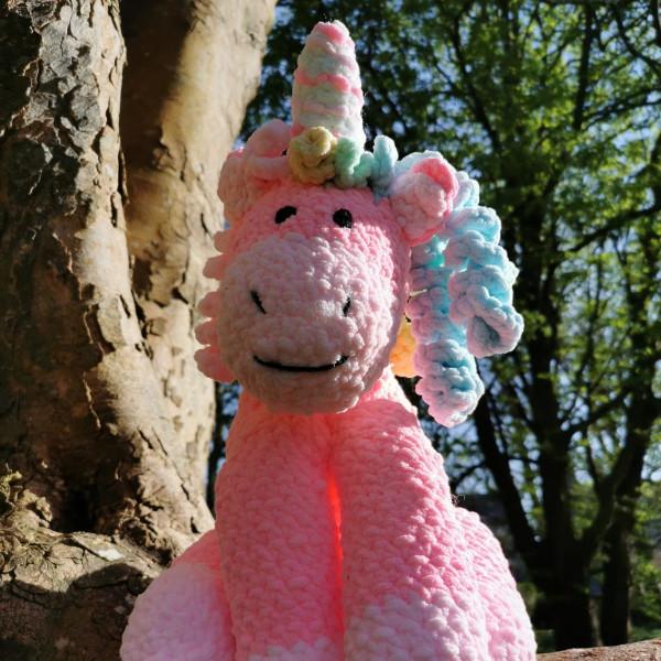 Pink Unicorn Soft Toy Baby Gift - IMG 20210407 160510 7721623967837268