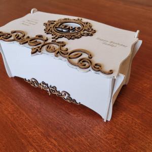 Handmade Personalised Keepsake Box