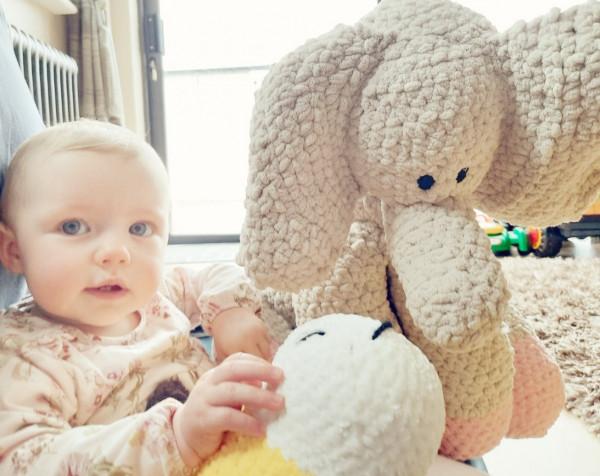 Elephant Soft Toy Baby Gift - IMG 20210528 2224531623967837279