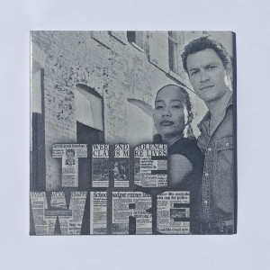 The Wire Poster Engraved On Ceramic Tile