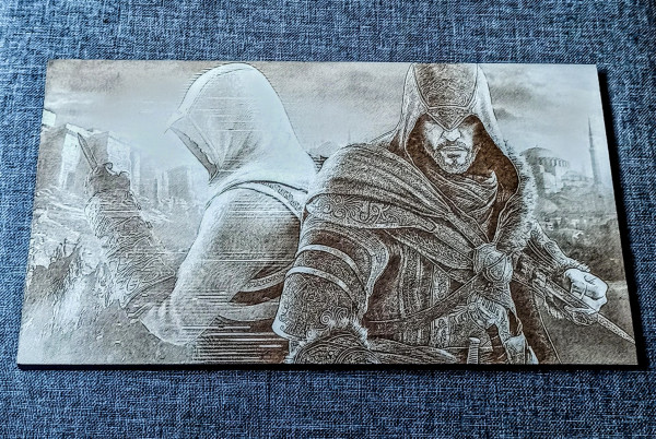Assassin's Creed Engraved on MDF Board - IMG 20210730 1939563