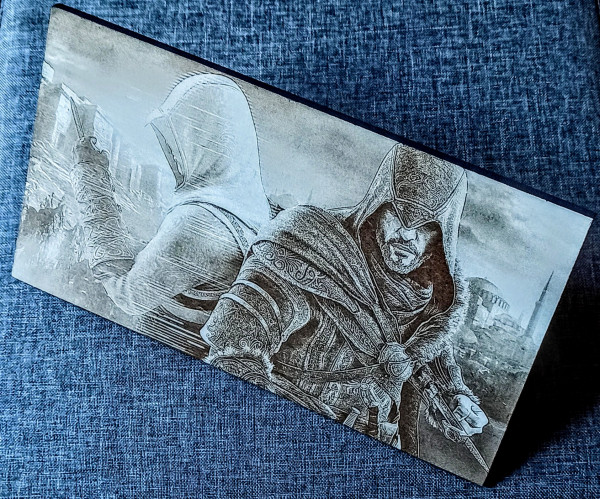 Assassin's Creed Engraved on MDF Board - IMG 20210730 1945213