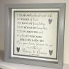 Wedding Anniversary Count Frame