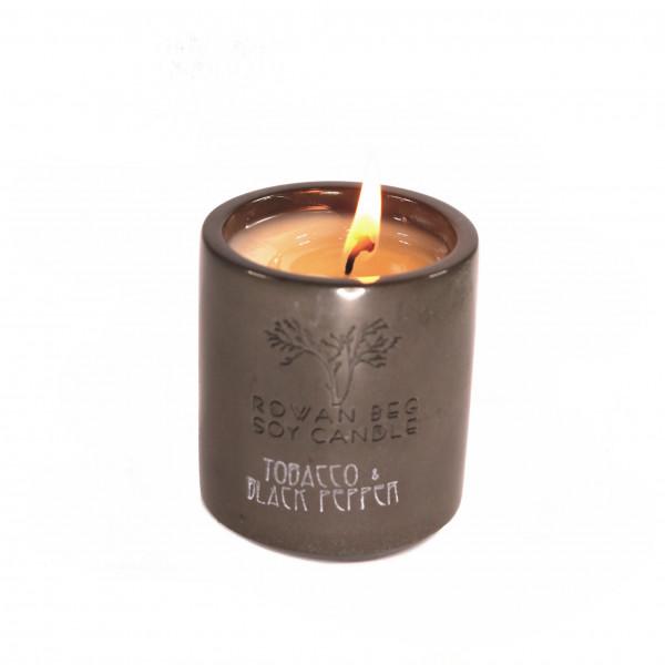 Tobacco and Black Pepper Candle - Tobacco Black Pepper Small 1