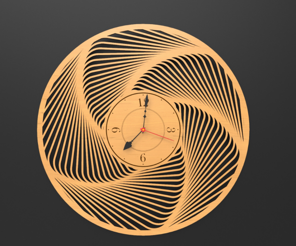 Modern Decorative Wall Clock - Wall Clock1