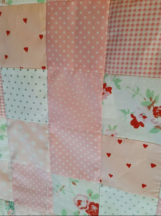 Personalised New Baby Cot Quilt - personalised quilt3
