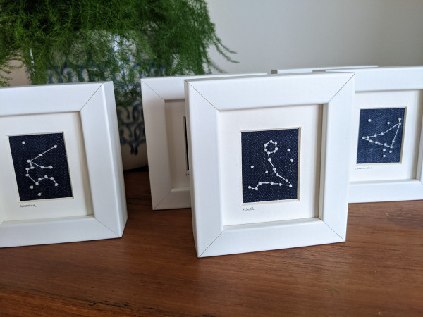 Pisces Star Constellations Miniature Frame - 2021 08 24 08.17.13 scaled