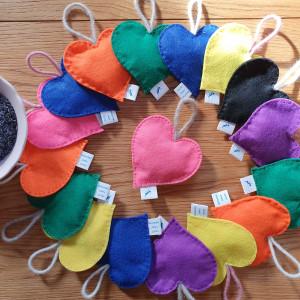 Lavender Hearts (2 pack)