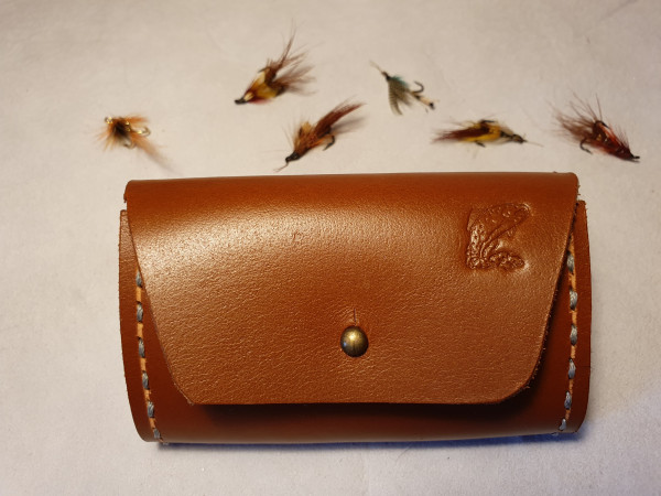 Fly Fishing Streamer Wallet with Sam Brown Fastener