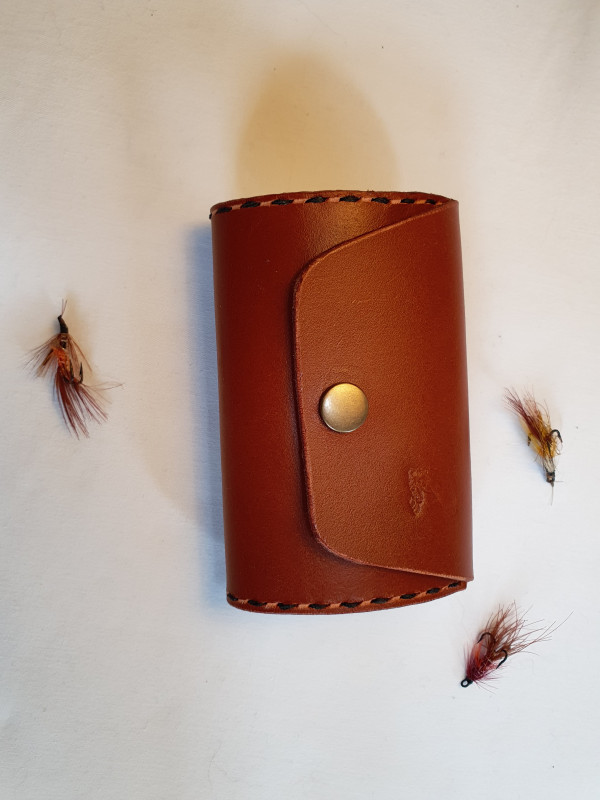 Fly Fishing Streamer Wallet with Click Button Fastener