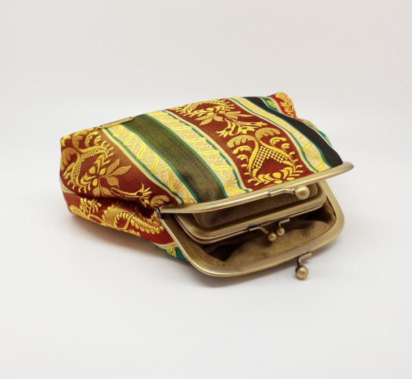 Gold Brocade Clutch Bag - 20210803 202911