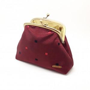 Red Square Clutch Bag
