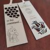 Wooden Handmade Bookmark