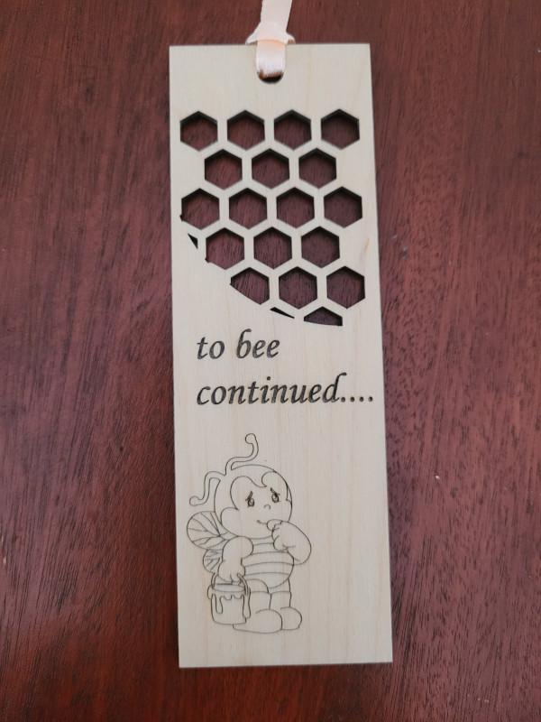 Wooden Handmade Bookmark - 20210810 163851