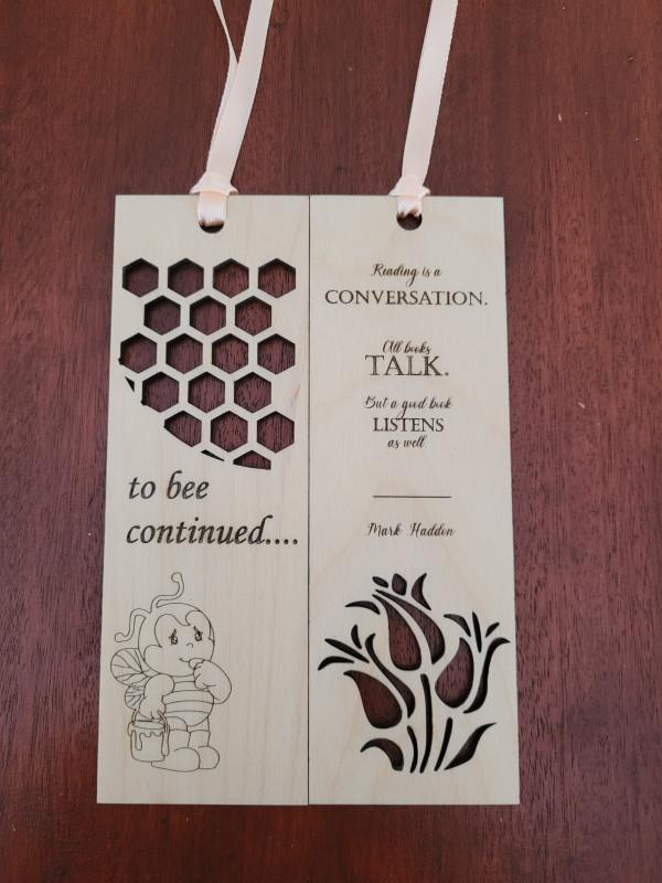 Wooden Handmade Bookmark - 20210810 163904