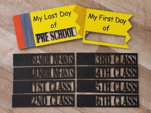 Handmade First/Last Day of School Sign - 20210815 193154 scaled