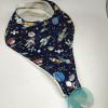 Dummy/ Soother Baby Bib Spaceship