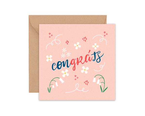 Congráts - Congratulations and Love