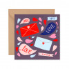 Love Love xoxo - Greeting Card
